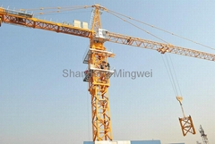 Construction machinery- tower crane  QTZ100(6012) ( 6010)