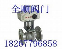 Q941F-16P不锈钢电动球阀