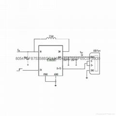 ETA9638/ETA9639单芯片移动电源芯片