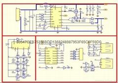 2A充电、3A升压输出移动电源二合一芯片