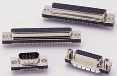 D-SUB PCB H-D连接器