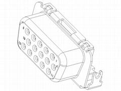 "SLIM 15F/RVS SINK 3U""C/H:-2.2mm"
