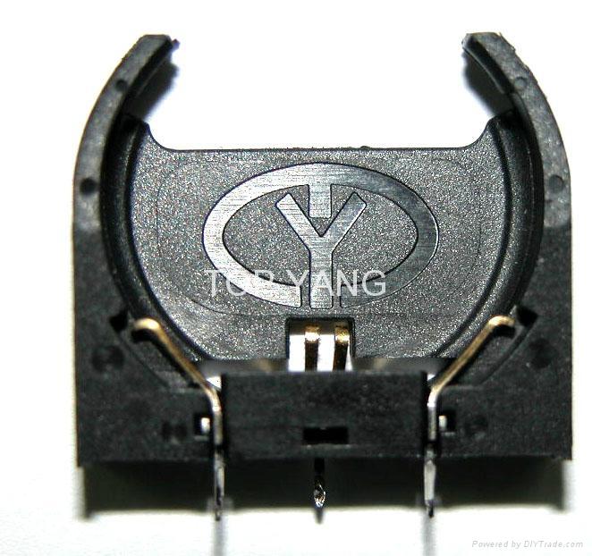 直立式電池座 1