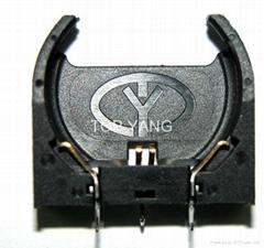 直立式电池座