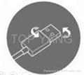 Reversible USB 2.0 Plug