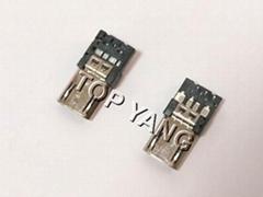 正反插Micro USB 2.0 B Type Plug