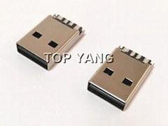 雙向USB 2.0 A Type Plug