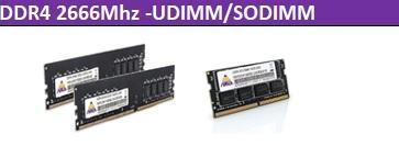 DDR4 2666Mhz -UDIMM/SODIMM 1