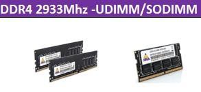 DDR4 2933Mhz-UDIMM/SODIMM 1