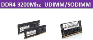 DDR4 3200Mhz-UDIMM/SODIMM 1