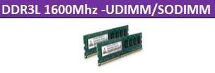 DDR3L 1600Mhz-UDIMM/SODIMM 1