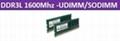 DDR3L 1600Mhz-UDIMM/SODIMM