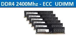 DDR4 2400Mhz-ECC UDIMM 1