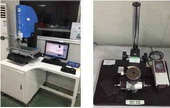 Inspection Equipment: 2.5D  /  Roughness Tester
