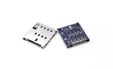 MICRO SIM卡座连接器 1.56 mm 8Pin Switch 1