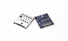 MICRO SIM卡座连接器 1.56 mm 8Pin Switch