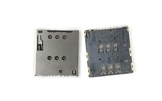 Push Push Mirco SIM 卡座连接器 1.42H