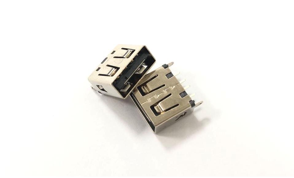 双向USB 2.0 直立式母座 1