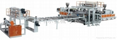 PVC裝飾板材生產線