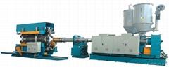 卧式HDPE大口径双壁波纹管生产线