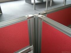 屏风隔断桌