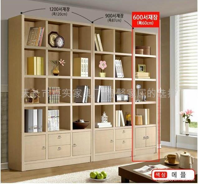韩式板式家居书橱 5
