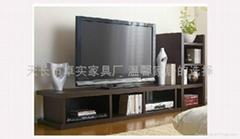 簡約現代客廳傢具電視組合視聽櫃