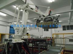 倉儲機器人碼垛系統