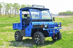 Electric 4x4 farm vehicl