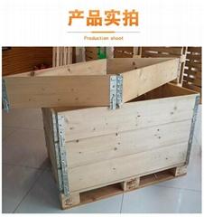 折叠围板箱可拆卸