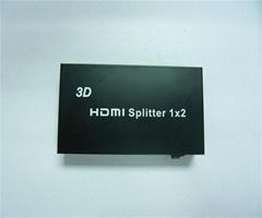 高清分配器 1進2出 1080P 支持3D