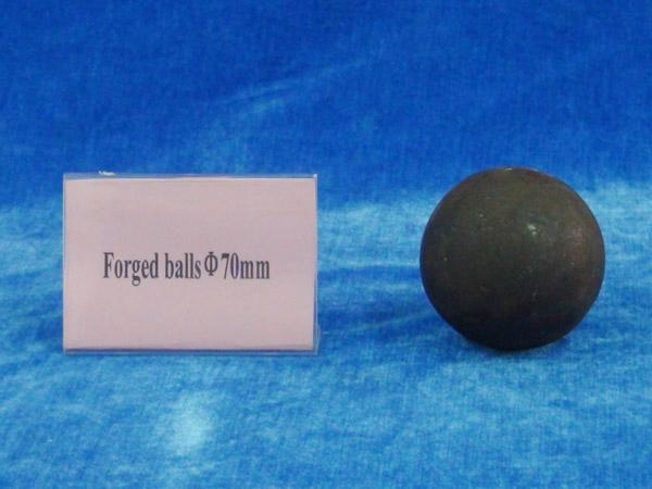 Forged balls for gold mine 2
