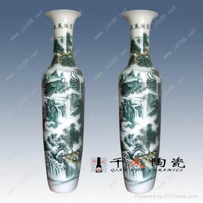 景德鎮陶瓷大花瓶 1