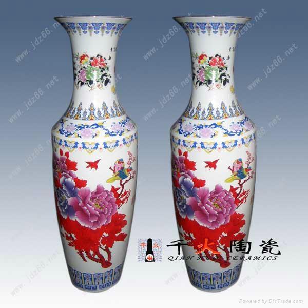 景德鎮陶瓷大花瓶 2