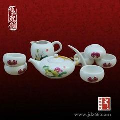 景德镇陶瓷茶茶具 开业礼品陶瓷茶具
