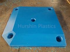 Standard HDPE Plastic Plate