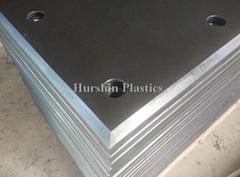 Abrasive HDPE Plastic Panel