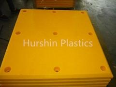Multiple Function HMW Plastic Plate