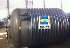 內盤管外半管不鏽鋼反應釜中國恆祥現貨供應呂18838855572