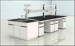 上海麦诚实验室设备供应全钢中央实验台福州实验室设计