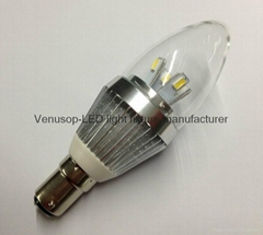 5W E14 LED candle light bulb