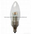 5W E14 LED candle light bulb 2