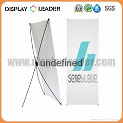 Economic X banner display Stand Frame