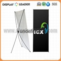 Economic X banner display Stand Frame 2