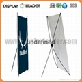 Economic X banner display Stand Frame 3