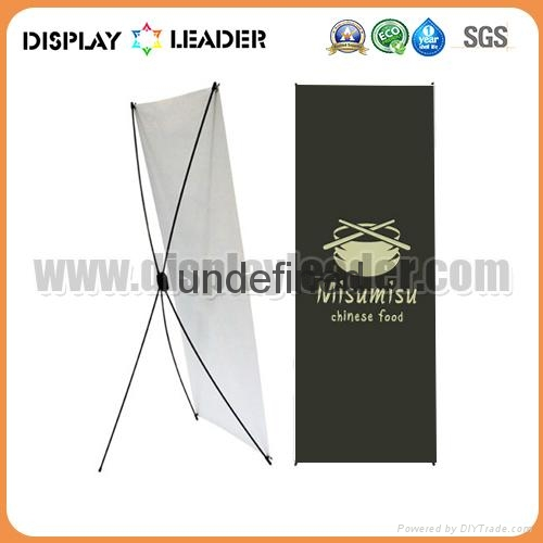 Economic X banner display Stand Frame 4