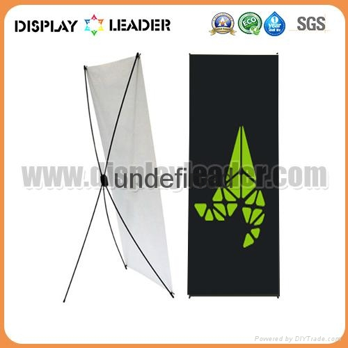 Economic X banner display Stand Frame 5