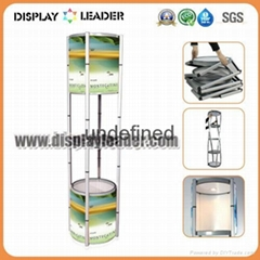 Spiral Showcase Portable Display  Rack Promotion Counter