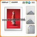AluminumRound Corner Snap Frame  Clip