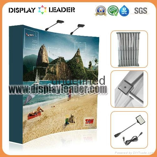 Pop Up Display Pop Up Banner Stand Trade Show Display Exhibition Stand 4